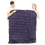 YOUTHCHANARM Youthchanarmlarge Schlafsack, Warm Und Gemütlich, Mit Schlafsack Ist Ideal Für Familie Camping - Tasche Enthalten.