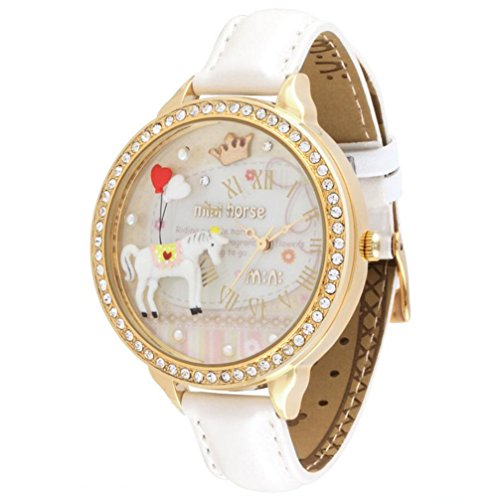 white-horse-girls-quartz-casual-wrist-watches-polymer-clay-material-white-real-leather-strap-modelwd