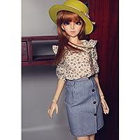 Sharplace Muñeca Fashion Mini Falda de Moda de Una Línea para 1/3 BJD Dollfie
