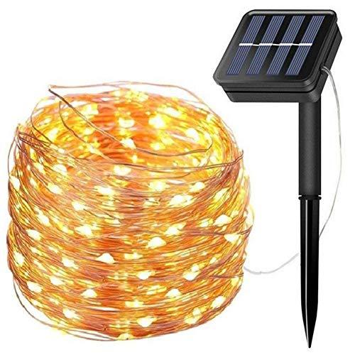 WFYZXE Lichterkette Außen 10M 100 LED 8