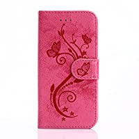 iPhone 6/6s Case, JGNTJLS [Fresh Fashion Styles] Embossing-Pattern, Filp PU Leather Wallet Card Slot Stand Cover For Apple 4.7