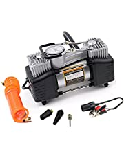 Automaze Heavy Duty Metal Air Compressor for Cars