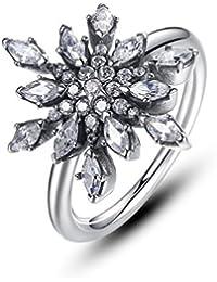 negozio online ac69a 326b0 Amazon.it: anello fiocco di neve pandora: Gioielli