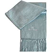 a97f79fd88e0 ... écharpe bleu ciel. TOUTACOO, Echarpe en Alpaga - Homme   Femme