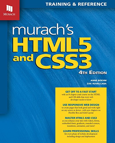 Pdf download murach s html5 and css3 4th edition by anne boehm pdf download murach s html5 and css3 4th edition by anne boehm full pages fandeluxe Images