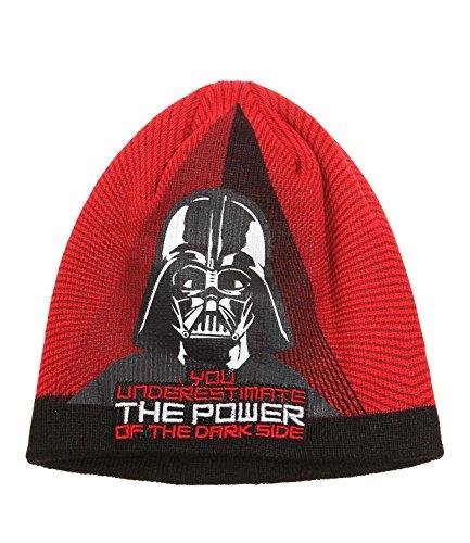 Star Wars-The Clone Wars Darth Vader Jedi Yoda Garçon Bonnet - rouge Rouge