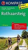 Rothaarsteig: Wander-Tourenkarte. GPS-genau. 1:50000 (KOMPASS-Wander-Tourenkarten, Band 2506)