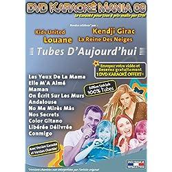 "DVD Karaoké Mania Vol.09 ""Tubes d'Aujourd'hui"""
