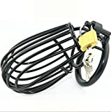 Man Chastity Lock Key Can Unlock Black Metal Solid 4.5cm
