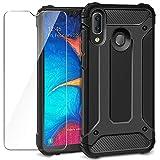 AROYI Cover Samsung Galaxy A20e + Pellicola Protettiva in Vetro Temperato, Custodia Robusto...