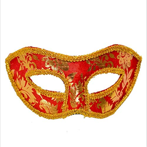 Pangding Halloween Maske, Festival Kostüm Party Cosplay Auge Kleid Jazz Masque Dress Up - Professionelle Jazz Kostüm