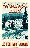 Herbé TM Les HOPITAUX JOUGNE Jura Ski R108-Poster/Reproduction 40x60cm d'1 Affiche Vintage/Ancienne/Rétro...