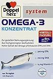 Doppelherz Omega 3 Konzentrat, 1er Pack (1 x 120 Stück)