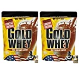 Weider Delicious Gold Whey 2 x 500g Beutel 2er Pack Mango-Maracuja