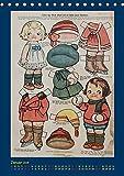 Dukke Lise Kalender - Anziehpuppen aus Papier (Tischkalender 2019 DIN A5 hoch): Kalender mit 12 alten Dukke Lise Anziehpuppen aus der Zeit von 1918 ... (Monatskalender, 14 Seiten ) (CALVENDO Kunst)