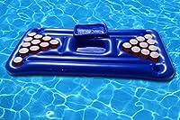 Tavolo da Beer pong Gonfiabile e Galleggiante per Mare e Piscina. Piscina gonfiabile Birra Pong. Gonfiabile piscina giocattolo Beer Pong materasso