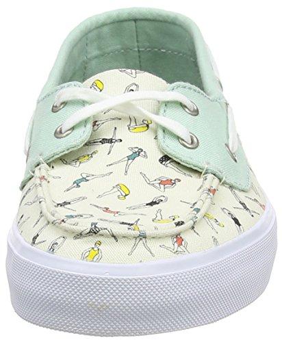 Vans Damen Chauffette Sf Sneaker Mehrfarbig (swimmers/gossamer Green/classic White)