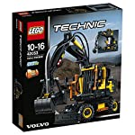 Get to know the high tech innovation of the Volvo EW160E with this authentic Lego technic replica of the real life wheeled excavator. This detailed model, developed in partnership with Volvo construction equipment, has been designed to provide an imm...