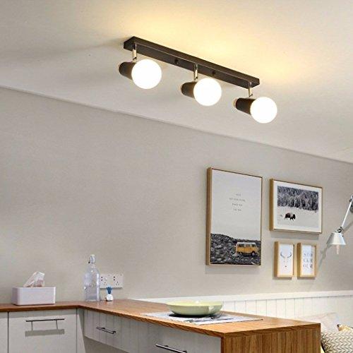 BAJIAN-LILED iluminación luminaria colgante El Salón Dormitorios WLight candelabro ideas simple green cuartos de baño los cuartos de baño, espejos la luz iluminación interior,Negro