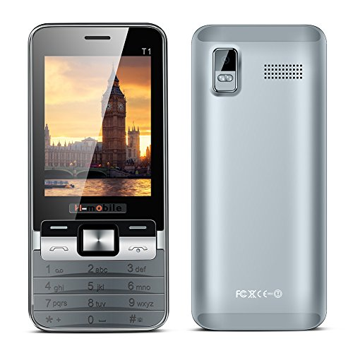 Padgene® Téléphone Portable Débloqué 2G ( 2,8 pouces Ecran – Double SIM – 64Mo ) Noir