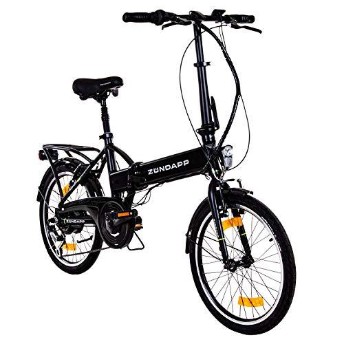 Zündapp Faltrad E-Bike 20 Zoll Z101 Klapprad Pedelec StVZO...