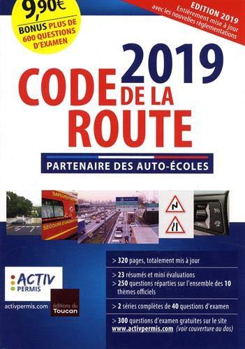 code de la route 2019 par Activ permis