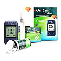 On Call Extra Blutzucker Messgerät Starterpaket (inkl. 10 Teststreifen, 10 Lanzetten, 1 Stechhilfe) (MG/DL) preisvergleich bei billige-tabletten.eu