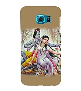 Lord Ram 3D Hard Polycarbonate Designer Back Case Cover for Samsung Galaxy S6 Edge+ :: Samsung Galaxy S6 Edge Plus :: Samsung Galaxy S6 Edge+ G928G :: Samsung Galaxy S6 Edge+ G928F G928T G928A G928I