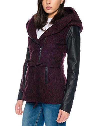 Only Damen Jacken / Winterjacke onlNew Lisford Wool Bordeaux