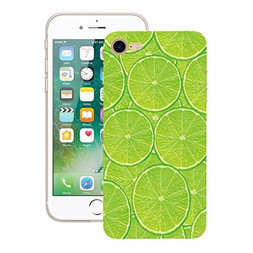 Yokata iPhone 7 Plus Hülle Soft Flexible Silikon Crystal Clear Transparent Bumper Ultra Dünn Schlank Handyhülle Premium Kratzfest TPU Durchsichtige Schutzhülle für iPhone 7 Plus (5,5 Zoll) Case Cover  Grüne Zitrone