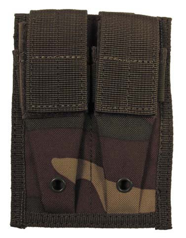 US Magazintasche MOLLE Modular System doppel at-digital Woodland