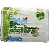 Bio Bébé Couches Biodégradables Taille 6–Pack de 34