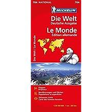 Michelin Die Welt: Maßstaab 1:28.500.000 (MICHELIN Nationalkarten)