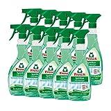 10x Frosch Spiritus Glas-Reiniger Sprühflasche 500 ml