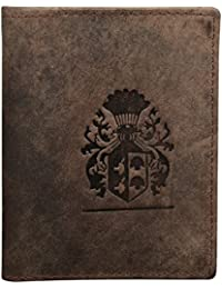 Style98 Brown 100 % Leather Wallet|| Card Holder||Money Clip||Money Clip wallet||American Dollar clip||Money Clipper ||ATM card Holder||Buisness Card Case||buisness card Holder||Card case Wallet for Men,Women,Boys & Girls