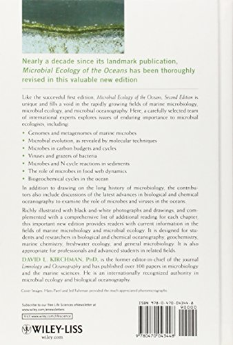 Microbial Ecology of the Oceans, Second Edition (Wiley Series in Ecological and Applied Microbiology)