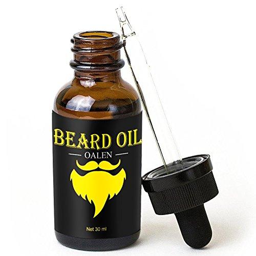 Bartpflege Set Surenhap 4 Pcs Premium Bartpflege mit Bartbürste Bartkamm Bartöl Bart Cream für Männer Geschenk