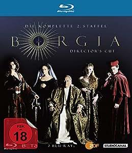 Borgia - Staffel 2 [Blu-ray] [Director's Cut]