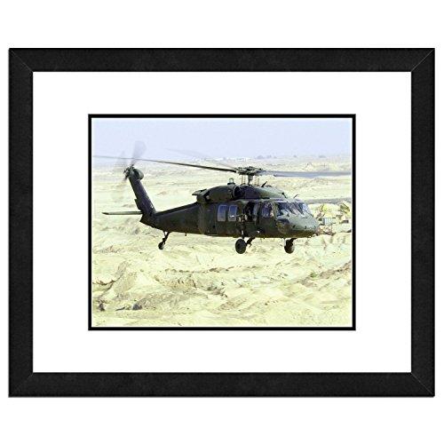 Tolle amerikanische Fotografie Wunderschönes Foto eines Black Hawk Helikopter -