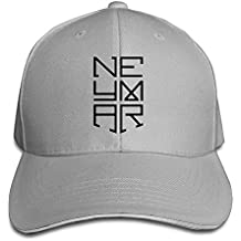 hittings Neymar Sandwich Peaked Hat/Cap Ash