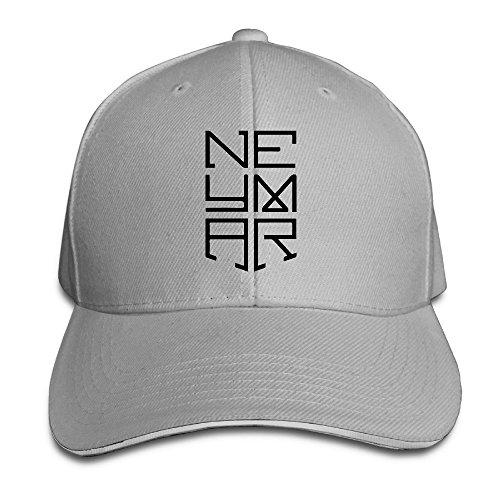 Hittings Neymar Sandwich Peaked Hat/Cap Ash (Neymar-kappe)