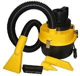 HP 20285 Auto-Staubsauger,4,5 Liter, 90Watt, schwarz-rot (Staubbeutel, trocken und nass, Teppich, Hartböden)