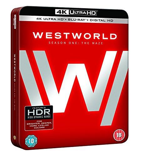 Westworld Series 1 - Tin [Edizione: Regno Unito] [Italia] [Blu-ray]