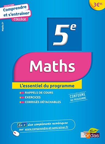 COMPRENDRE ENTRAINER MATHS 5E