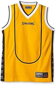 Spalding teamsport play off tank top-top jaune/noir XXS Jaune/noir - Jaune