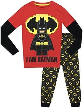 Lego Batman - Pigiama a maniche lunga per ragazzi - Lego Batman - Vestibilitta Stretta
