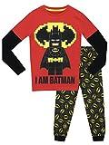 LEGO Batman Jungen Batman Schlafanzug - Slim Fit - 140
