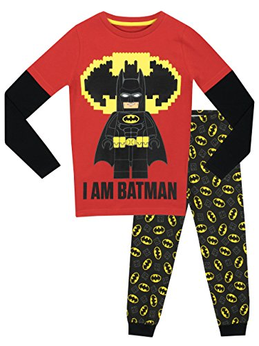 Lego Batman Jungen Lego Batman Schlafanzug - Slim Fit - 116 (Batman Pyjama-hose)