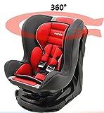 Kinderautositz REVO 360° drehbar und neigbar - gruppen 0+/1-4 farben - Carmin