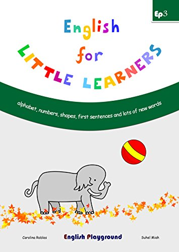 ENGLISH FOR LITTLE LEARNERS - LEVEL EP3 (5-6 YEARS OLD)